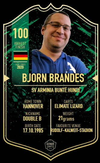 Player Card Björn