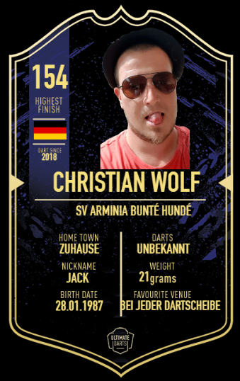 Player Card Christian